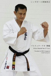 Singapore Branch Chief and President of World Karate Organization (WKO) Shinkyokushinkai Singapore, Shihan Patrick Teo
